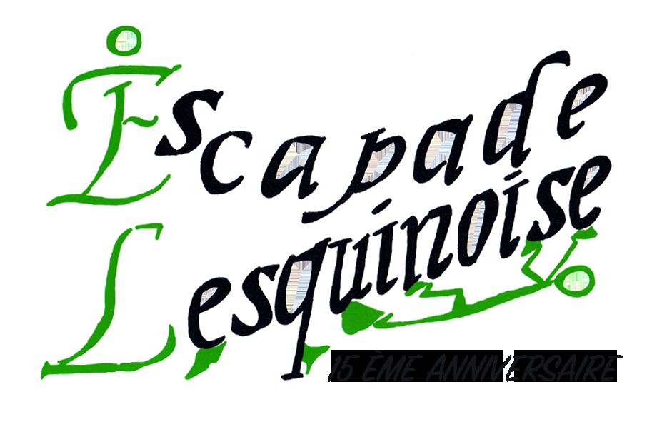 Logo escapade lesquinoise 15 ans 1